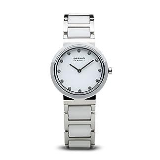 BERING Reloj Analógico para Mujer de Cuarzo con Correa en Acero Inoxidable 10729-754