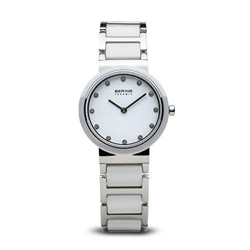 BERING Damen-Armbanduhr Analog Quarz Edelstahl 10729-754