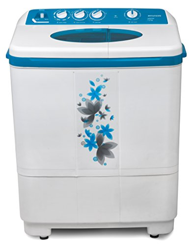 Hyundai 7.2 kg Semi-Automatic Top Loading Washing Machine (HYS72F, Luminous...