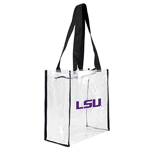 ncaa-lsu-tigers-square-stadium-tote-115x-55x-115-inch-clear-by-littlearth