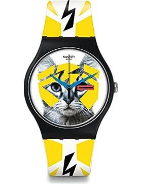 Swatch Damen-Armbanduhr SUOB135