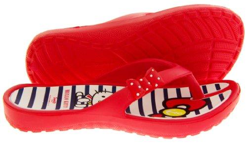 Hello Kitty Ingiro Bambina Infradito Sandali da Spiaggia Rosso