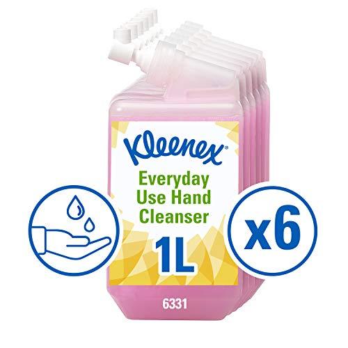 KLEENEX* Normale Waschlotion, 6331 – 6 1-l-Nachfüllkassetten, pink