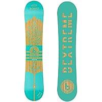 Bextreme Tabla Snowboard Freestyle Diamond 2019. Eco-Board de Bambu, Haya y álamo. Medida Tabla 160cm. Snow Banana para Hombre y Mujer