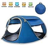 CLDGF Zelt, Automatisches Zelt, Im Freien 3-4 Personen-Tragbares Zelt, Kampierendes Lager, Wildes Strand-Zelt.
