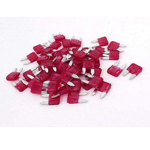 Mini Auto Auto Boot Blade Fuse 10A 50PCS Red 10a Mini Blade Fuse