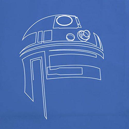 SW: R2-D2 Line - Stofftasche / Beutel Hellgrün