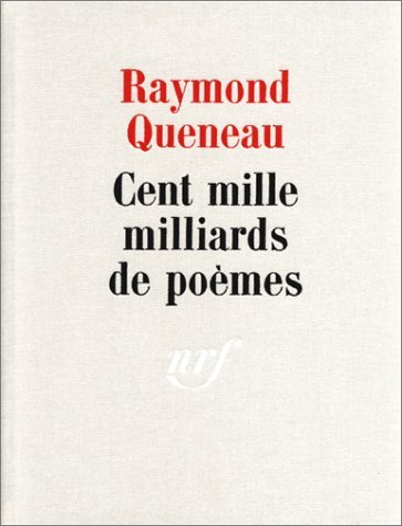 Cent Mille Milliards De Poemes [Pdf/ePub] eBook