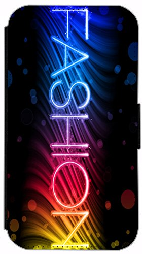 Flip Cover für Apple iPhone 6 / 6S (4,7 Zoll) Design 484 Pferd Hengst Schwarz Hülle aus Kunst-Leder Handytasche Etui Schutzhülle Case Wallet Buchflip mit Bild (484) 489
