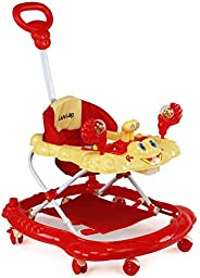 Luvlap Sunshine Baby Walker, Height Adjustable with Light & Music Toys, 6m+ (