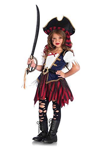Karneval Karibik Kostüm - Leg Avenue Karibik Pirat, XS