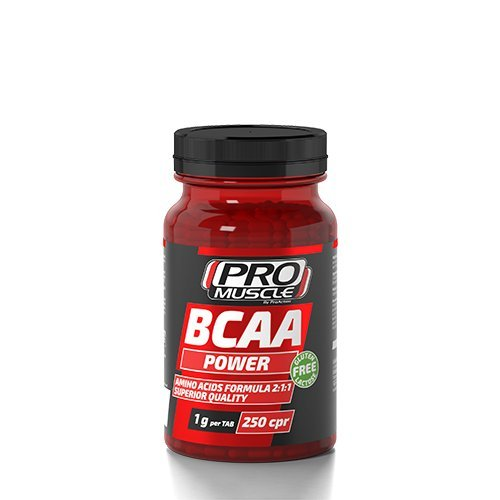 PROMUSCLE BCAA Power (250 cpr)