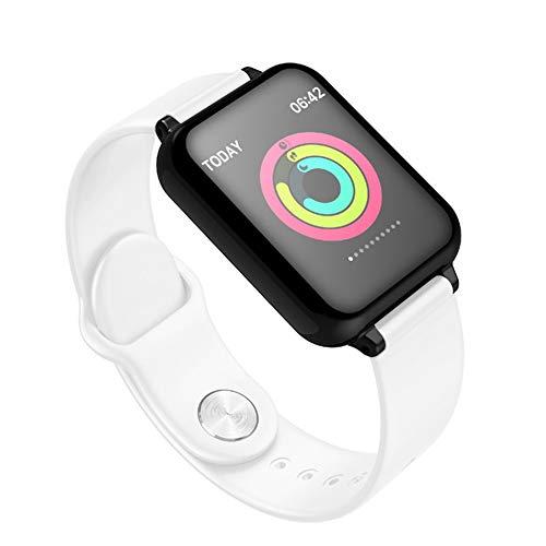 JIEGEGE Smart-Armband, Bluetooth-Puls-Blutdruck-Tracker-Uhr, Männer Frauen Sport Smartwatch, Intelligente Anti-verlorene, Fernbedienung Fotografie, Für Android Phone IOS