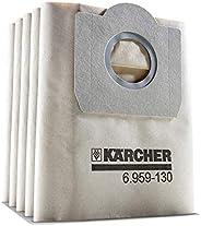 Kärcher 6.959-130.0 Dammsugare WD3 Pappersfilterpåsar, Paket med 5