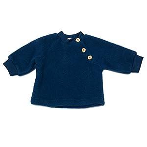 ENGEL NATUR Jersey con forro polar para bebés, de lana virgen - 2