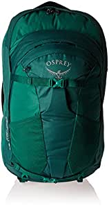 Osprey Damen Fairview 55 Travel Pack, Rainforest Green, S/M