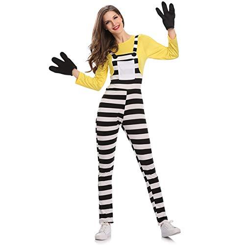 GRYY Cosplay Anime Cosplay Puppe bühnenkleidung Erwachsene weibliche Modelle Halloween Charakter kostüm bühnenkleidung,Yellow-M (Anime Weiblichen Charaktere Kostüm)