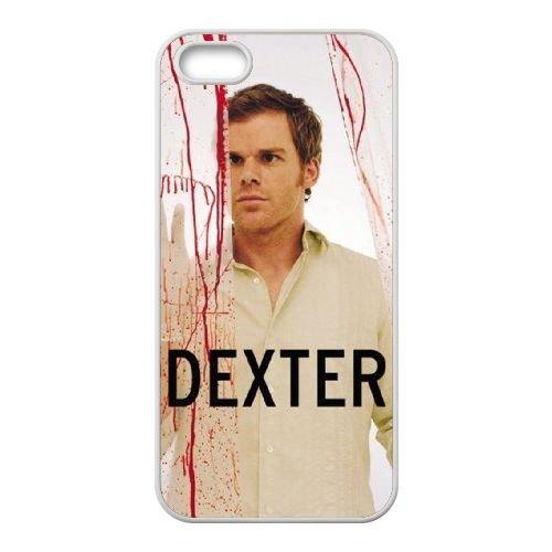 Dexter Blood coque iPhone 4 4S Housse Blanc téléphone portable couverture de cas coque EBDXJKNBO09462