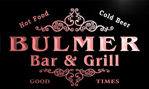 u06018-r-bulmer-family-name-bar-grill-cold-beer-neon-light-sign-barlicht-neonlicht-lichtwerbung