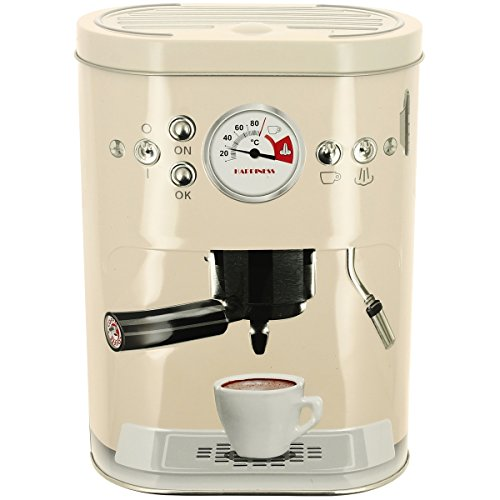 Promobo - Boite à Capsules Café Double Dosette Senseo Machine A Café 3D Crème