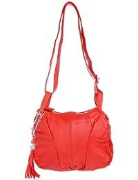 comma , Sac à main pour femme Rouge Rouge Länge 43 cm, Breite 32 cm, Tiefe 10 cm