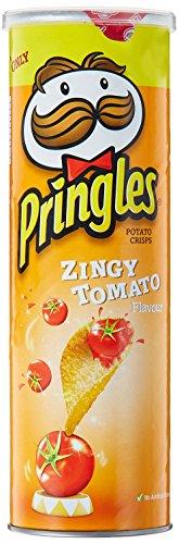 Pringles Chips, Zingy Tomato, 110g