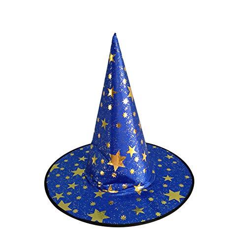 BESTEU 1 Piezas de Halloween Bruja Hat Magic Hat Party Juguetes Cosplay para  Adultos y niños 513c11594d4