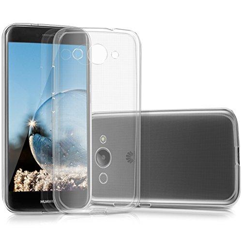 kwmobile Huawei Y3 (2017) Hülle - Handyhülle für Huawei Y3 (2017) - Handy Case in Transparent