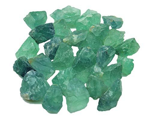 Steinfixx Fluorit grün Rohsteine 1...