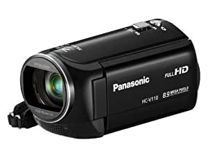 Panasonic HC-V110 Camescopes Classique 1080 pixels Zoom Optique 38 x 2.51 Mpix