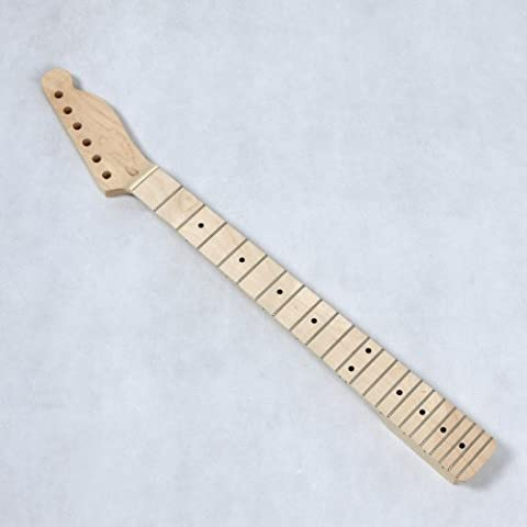 douself Replacement Maple Neck 22 Frets Fingerboard for TL Tele Style Electric Guitar