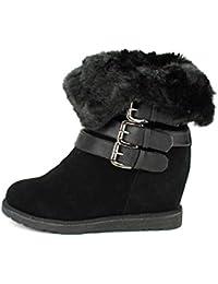 1f1c75dc16208 Amazon.fr   bottes fourrees - Cendriyon   Chaussures et Sacs