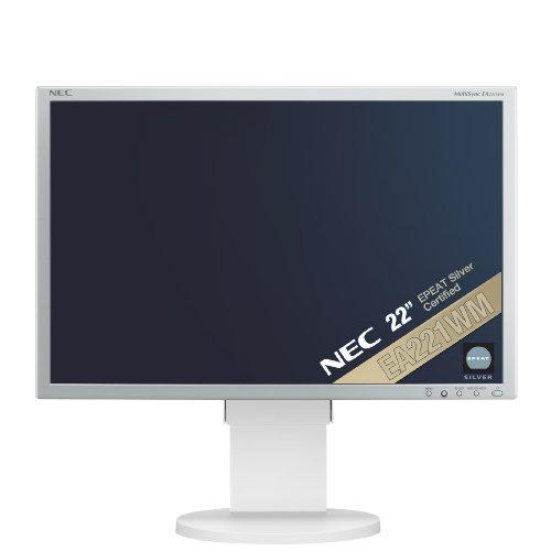 NEC MultiSync EA221WM 22-Inch Monitor - White