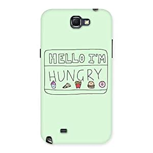 Neo World Hello Hungry Back Case Cover for Galaxy Note 2