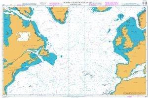 Ba Diagramm 4011: North Atlantic Ocean Nördlichen Teil