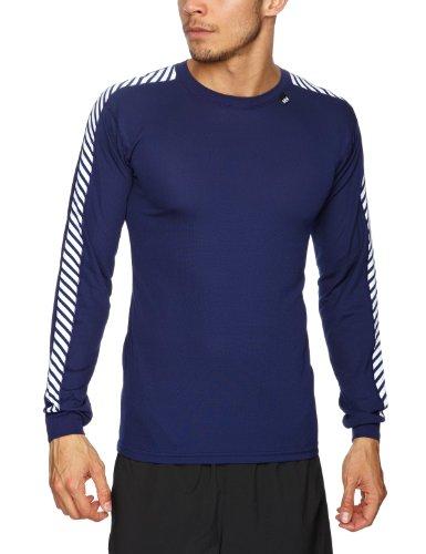 Helly Hansen – Camiseta deportiva para hombre (manga larga), diseño a rayas, varios colores