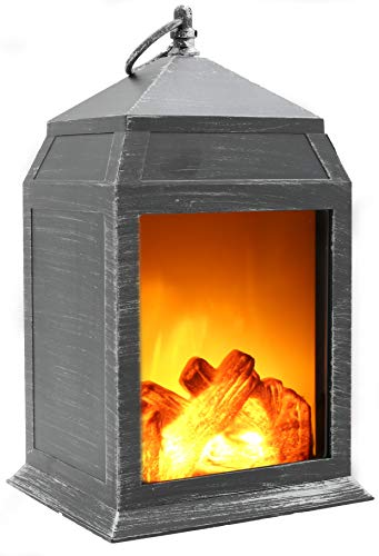 9d3e0ca3355 Fireplace Lamp Led Flame Log Effect Fire Place Brushed Style Ornaments Cosy  Home Decor