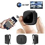 TONGTONG Mini IP Kamera Micro WiFi HD Nachtsicht 720P Kamera Video Recorder Sport Outdoor Bewegungserkennung Android P2P Wearable Cam