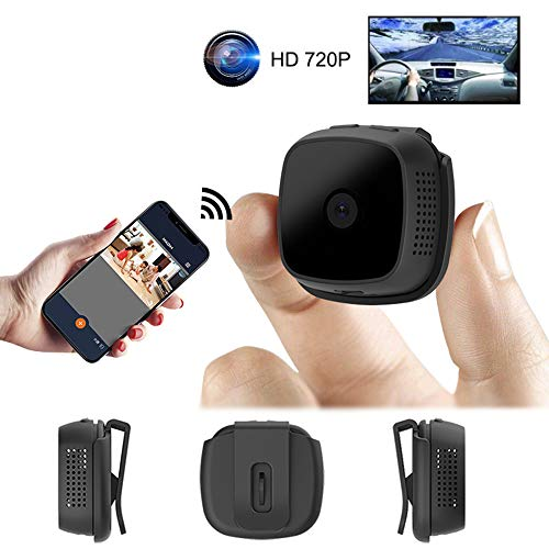 TONGTONG Mini Camera Micro WiFi IP Night Vision 720P Camera HD Video Recorder Sport Outdoor Motion Detection Android P2P Wearable Cam Night-vision-security-cam