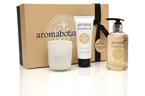Aroma Botanical Vanille Creme AromaSpa Verwöhnende Geschenk-Set -