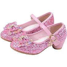 f24ef80d8e3b7f O N Prinzessin Gelee Partei Absatz-Schuhe Sandalette Stöckelschuhe für  Kinder