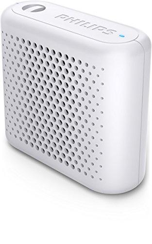 Philips BT55W - Mini Altavoz Bluetooth inalámbrico portatil, Compatible con Smartphones, iPhone,...