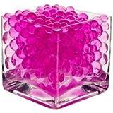 Pink-Pink 2 Packs Water Aqua Crystal Soil Bio Gel Ball Beads Wedding Vase Centerpiece UK