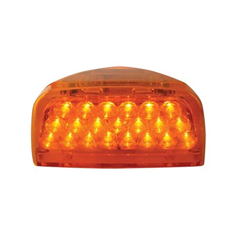 Grand General 77230 Amber 31-LED Peterbilt Headlight Turn Signal Sealed Light with 3 Wires for Front/Park/Turn Functions by Grand