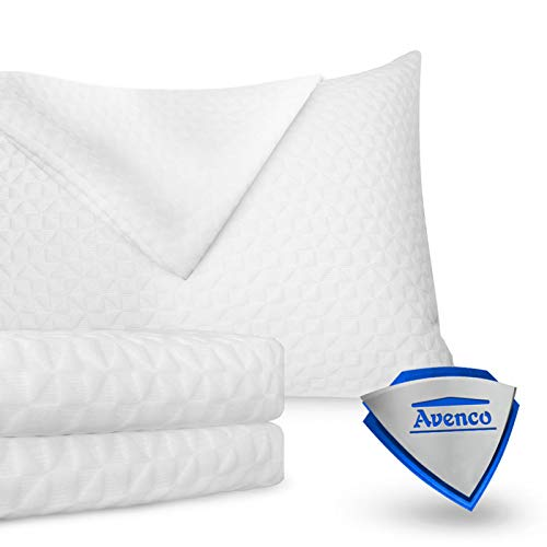 Avenco Cases Allergy Control, Hypoallergenic Dust Mite & Bed Bug Covers King White