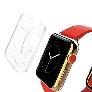 Apple Watch Case, HAWEEL Apple Watch 42mm Case Slim Transparent Soft Protective Case for Apple Watch 42mm, Transparent