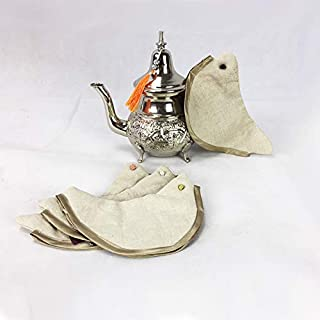 ARTIGIANATO VULCANO Artisanato Volcano Pot Holder for Moroccan Teapot