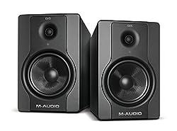 M-Audio BX5 D2 Aktiver Bi-Amping Studiomonitore und PC-sprecher (70-Watt, 1 Paar)