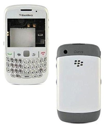 YGS High Quality Full Body Housing Panel Faceplate For Blackberry Curve 8520-White  available at amazon for Rs.349