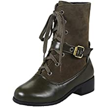Darringls Botas de mar de Invierno Mujer,Zapatillas Botas de mar Hebilla Zapatos Botas Medias